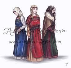 Estilo de cabello de las mujeres vikingas en su época