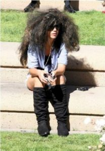 Explosión de cabello