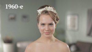 Historia de los peinados de boda. 60's