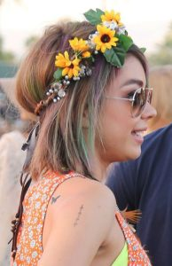 Looks con flores