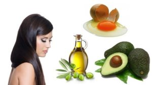 Mascarilla de yemas y aceite de oliva