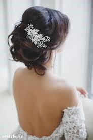 Moños con tocados para novias