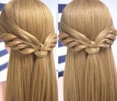 Peinado con cabello lacio