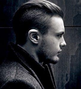 Peinado de hombre con estilo