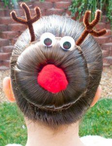 Peinado de reno