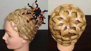 Peinado de tela de araña