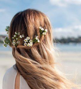 Peinado ideal para bodas de día