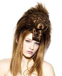 Peinado león