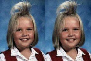 Peinado ochentero para las niñas