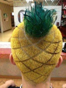 Peinado piña