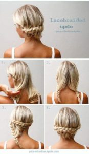 Peinado recogido flojo