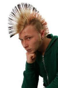 Peinado rockero