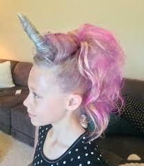 Peinado unicornio