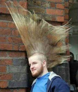 Peinados anti-gravedad
