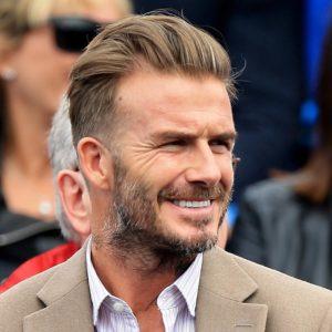Peinados de Beckham actuales