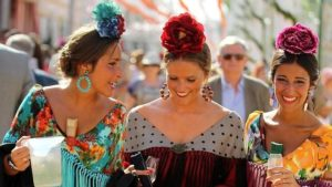 Peinados de flamenca para la Feria de Abril