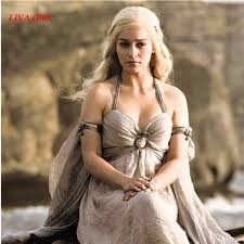 Peinados de la madre de dragones