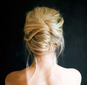 Peinados de novia recogidos desordenados