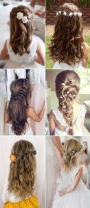 Peinados hermosos para bautizos