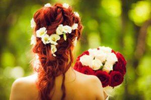 Peinados hippies para novias