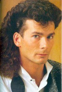 Peinados hombres de los 80