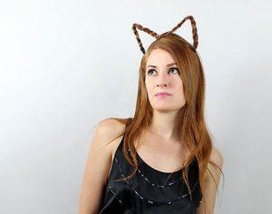 Peinados orejas de gato