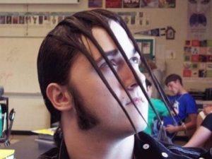 Peinados raros de hombres