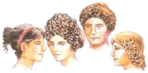 Peinados romanos antiguos