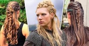 Peinados vikingos en mujeres