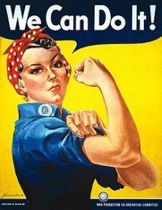 Rosie the Riveter bandana