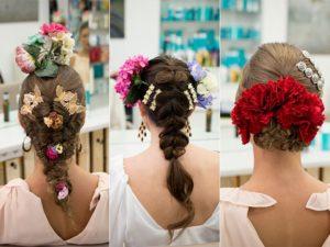Tipos de peinados de flamencas