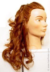 Tirabuzones para crear un look romántico procedimiento