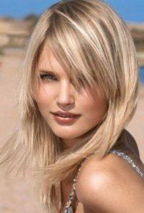 cortes de pelo a capas cabello largo